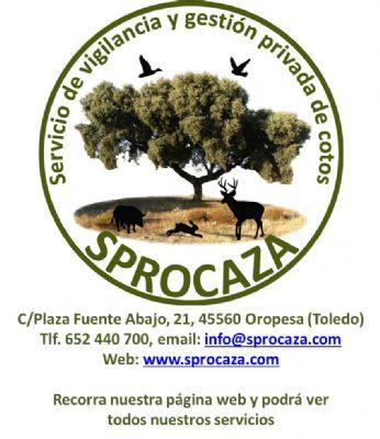 Logo Sprocaza - Empresa multiservicios para fincas y particulares