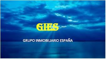 Logo GIES. GRUPO INMOBILIARIO ESPAÃ'A